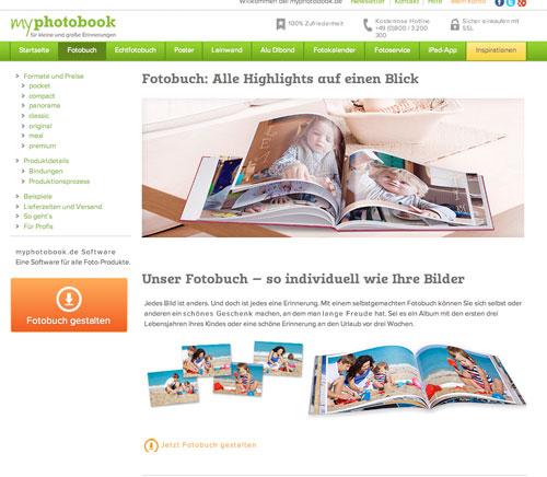 Myphotobook Fotobuch Anbieter