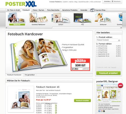 PosterXXL Fotobuch Anbieter